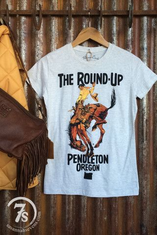 The Roundup – Pendleton graphic tee from Savannah Sevens Western Chic