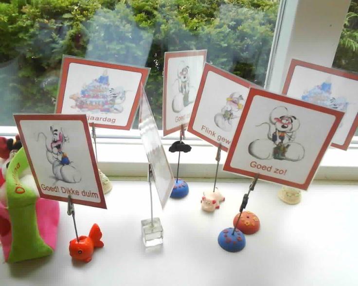 Complimenten - KlasvanjufLinda.nl - vol met leuke lesideeën en lesidee - fotoknijpers toch nog nuttig gebruiken :-)