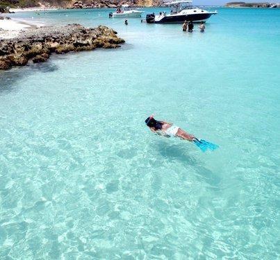 Reserve Natural Caja de Muertos - Ponce, Puerto Rico. Beautiful water! ASPEN CREEK TRAVEL - karen@aspencreektravel.com