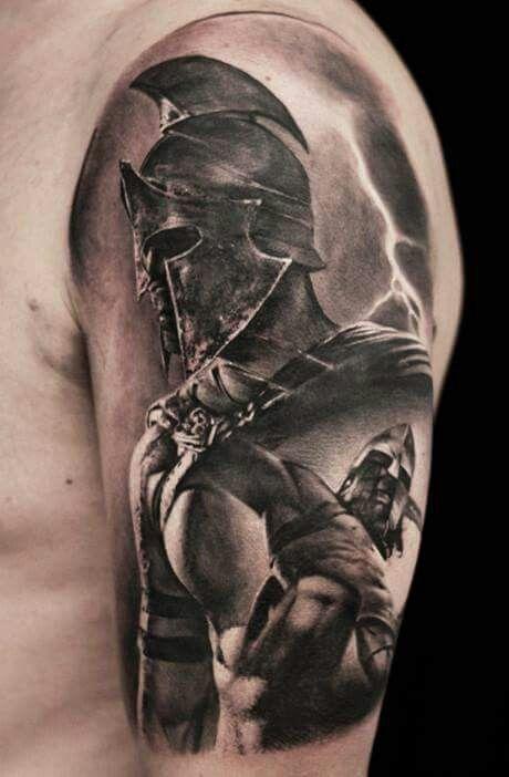 Znalezione obrazy dla zapytania gladiator tattoo designs
