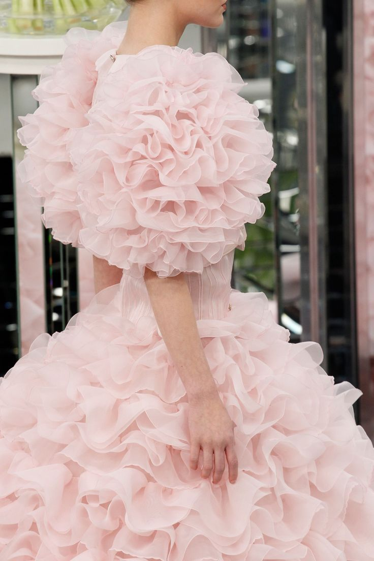 Chanel Haute Couture Spring/Summer 2017 Details