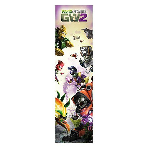 Plants vs Zombies Garden Warfare 2 Wall Decal GW2 Plants  Zombies Tall Vertical Graphic 325 in x 12 in * Be sure to check out this awesome product.Note:It is affiliate link to Amazon.
