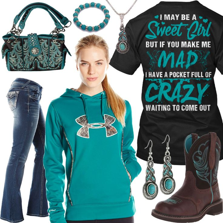 If You Make Me Mad I Have A Pocket Full Of Crazy Outfit - Real Country Ladies