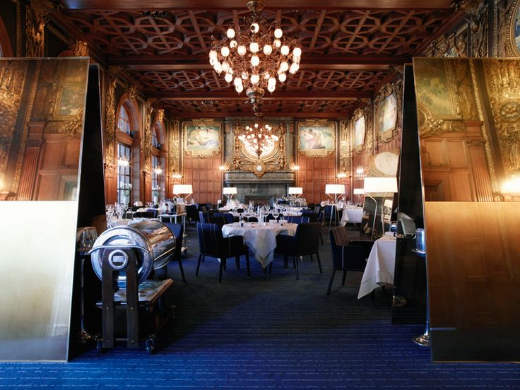 Operakällaren,Stockholm's famous restaurant - Throw Hall l Renovation by Claesson Koivisto Rune l Kasthall Carpets