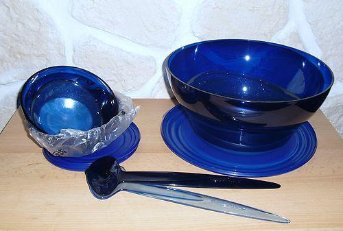 Tupperware Eleganzia Set Paket blau NEU | eBay