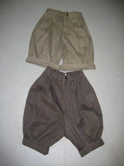 DIY Thrift store pants to steampunk knickers tutorial