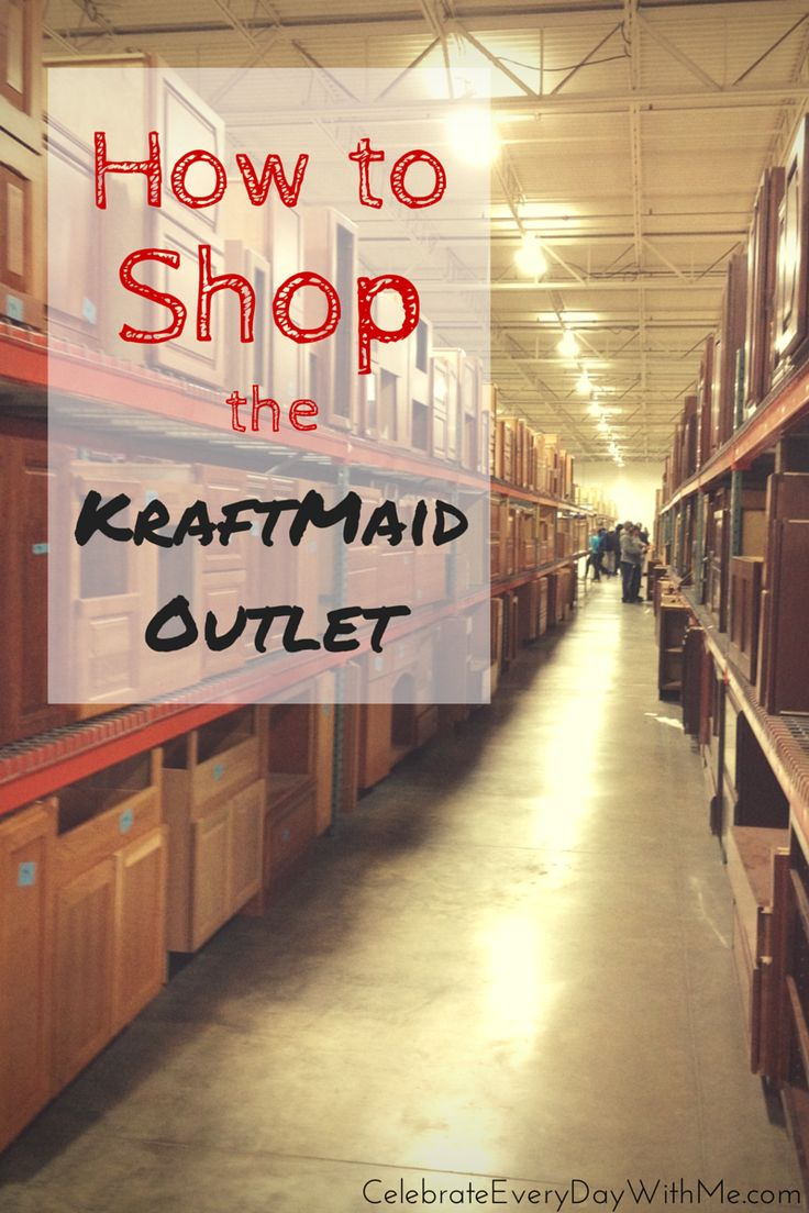 Contact info for the Kraftmaid Outlet. Love this place! We've got 3 of our…