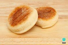 Receta de Muffins ingleses caseros - Pan en sartén