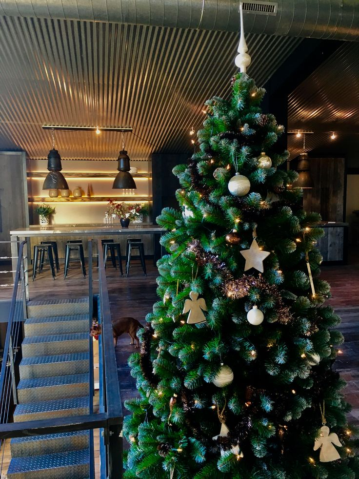 Kerst in de showroom van The Living Kitchen by Paul van de Kooi