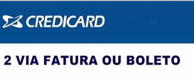 Dicas para emitir 2 via da fatura de seu cartão de crédito credicard master e visa - http://www.meuscartoes.com/2015/05/credicard-fatura-boleto-pela-internet.html