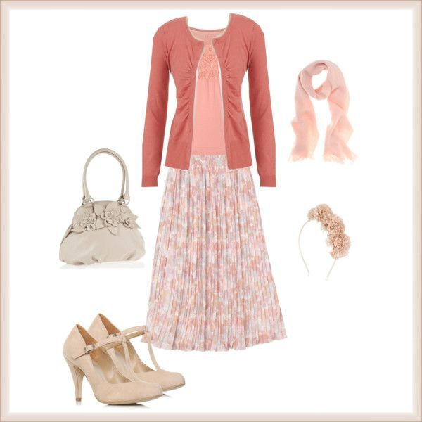 Cute Modest Clothing for Women   Visit trinity-holiness-girl.polyvore.com