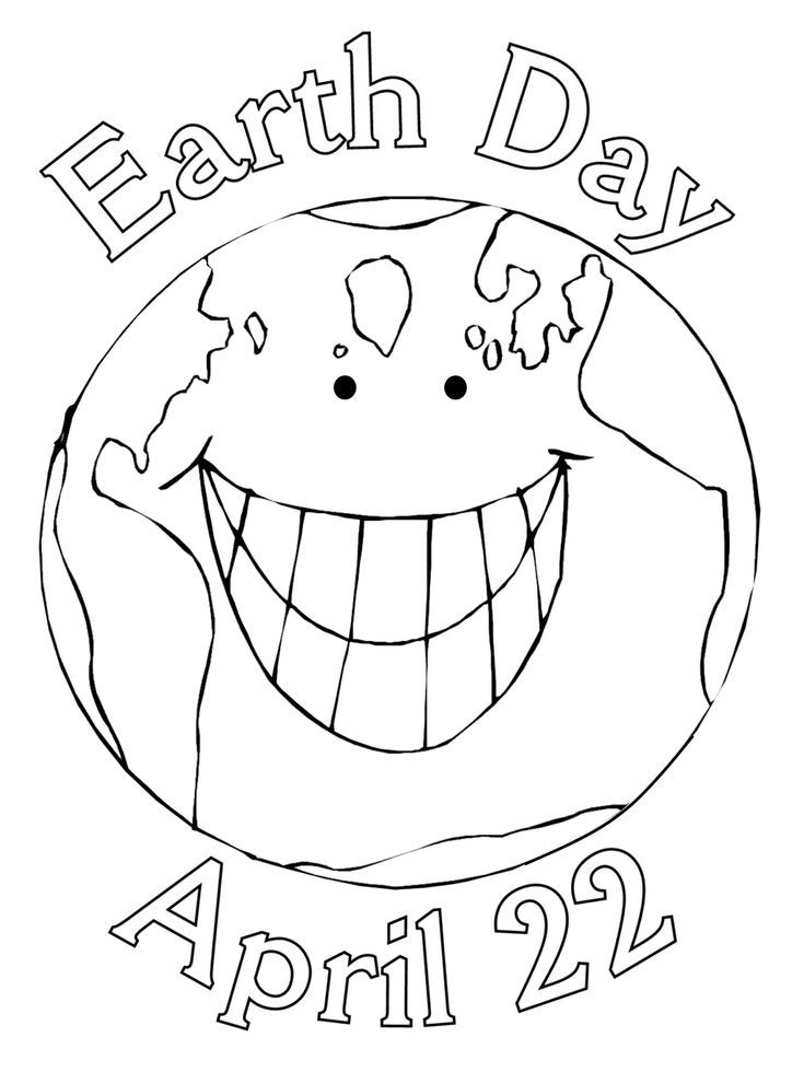 Earth Day Coloring Page Free Printable Ebook With Images