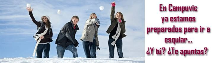 @Campuvic Viatges #esquiar #esqui #puente ¡¡YA ESTAMOS PREPARADOS!! TENEMOS LOS ESQUIS A PUNTO!! ¡¡YA TENEMOS OFERTAS PARA EL PUENTE DE LA INMACULADA!! Ir a: http://www.campuvic.com/viatges/neu---esqui_cpc_33_1.html