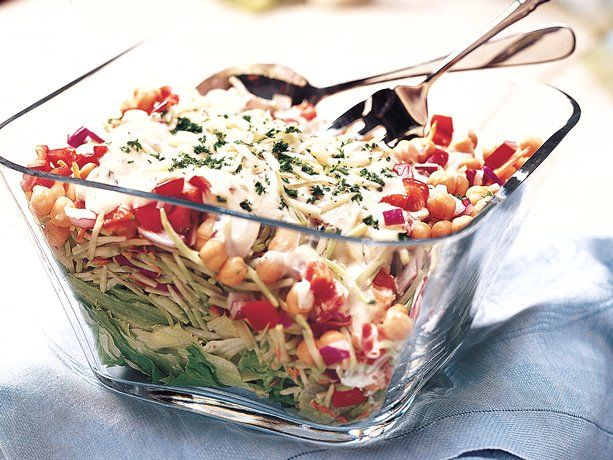 Italian Layered Salad: Reduce Weights, Layered Salad, Salad Recipe, Healthy Weights, Weights Loss Tips, Get Fit, Lose Weights, Healthy Recipe, Italian Layered