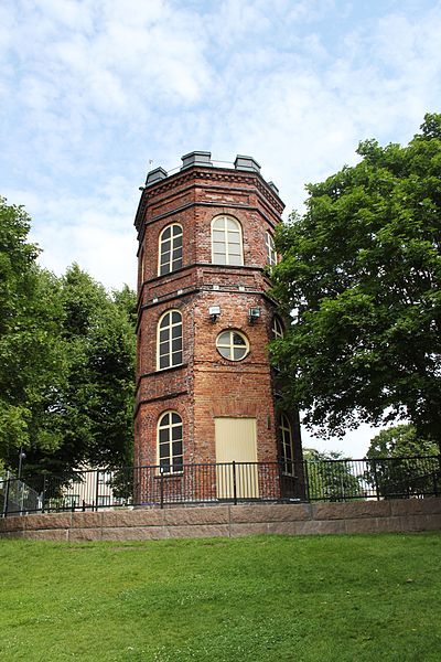 Koff tower (1854) Helsinki - Photo: Arkkipuudeli