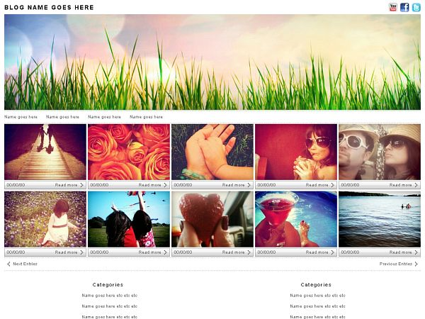 Photologger Wordpress Theme