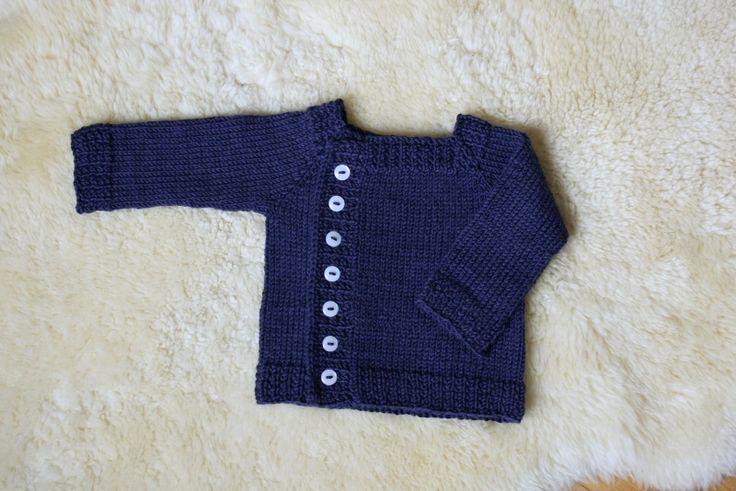 patron tricoter pull bébé