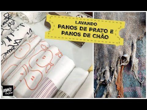 Organize sem Frescuras | Rafaela Oliveira » Arquivos  » Lavanderia sem Frescuras: Panos de Prato Branquinhos e Panos de Chão Desencardidos!