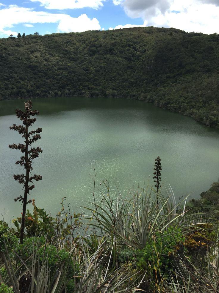 Laguna Sagrada de Guatavita Colombia