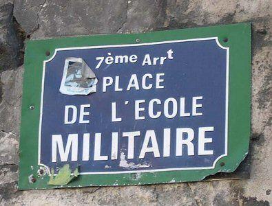 La place de l'Ecole-Militaire  (Paris 7ème)