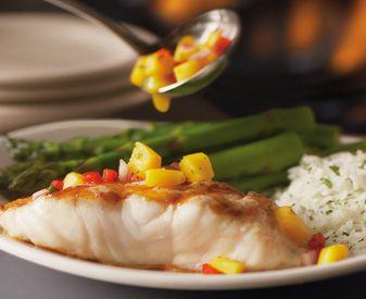 Bonefish Grill - Warm Mango Salsa recipe