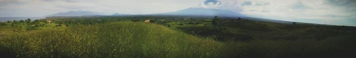 Agung Mountain at Savanah Tulamben, Bali