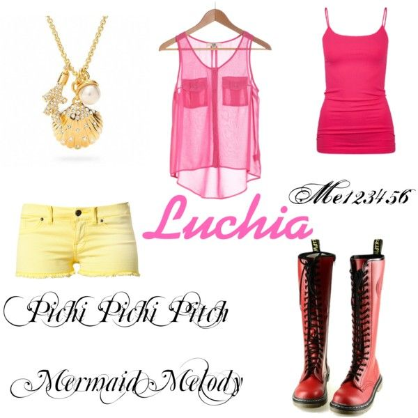 """""""Pichi Pichi Pitch Mermaid Melody: Luchia"""" by me123456 on Polyvore"""