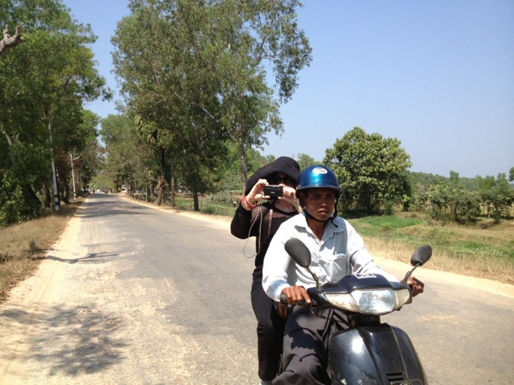 Exploring the sights of Pathein, Myanmar