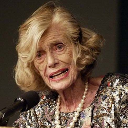 Eunice Kennedy Shriver....lifelong disability advocate and founder of the Special Olympics.