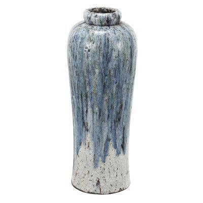 World Menagerie Terracotta Vase