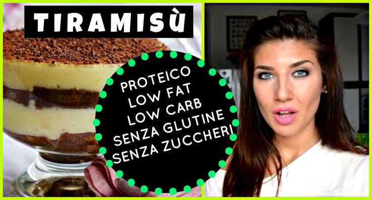 ✭ IL TIRAMISU SANO ✭ PROTEICO, SENZA Zuccheri, LOW Carb, LOW Fat, SENZA ...