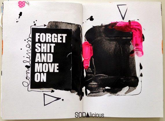 made by Olennka ►SODAlicious art journal challenge No30