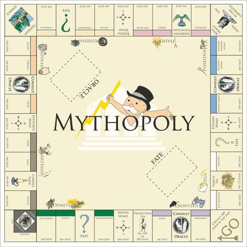 Monopoly Board Project by Sarah Anderson, via Behance https://www.mymonopoly.com/non-uk/index.html