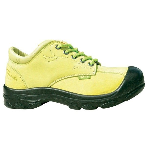 Laced work shoe - S555 Lime 5