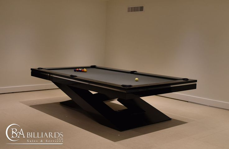 Contemporary Pool Tables : Modern Pool Tables : Custom Pool Tables
