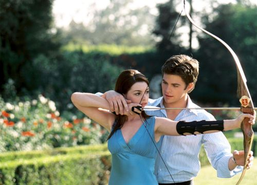 Chris pine can help me with archery any day