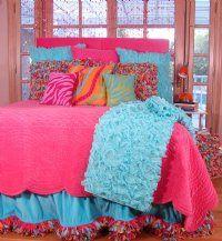 Teen Bedding, Children's Bedding, Designer Bedding for Girls, Girls Bed Sets, Teenage Girl Room Designs, Tween Girl Comforters and Quilts - Sweet and Sour Kids