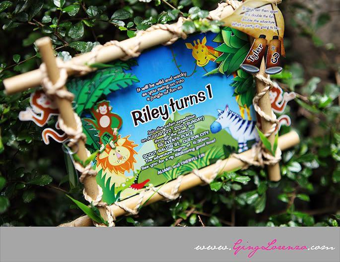 Cute Jungle Theme Decoration!