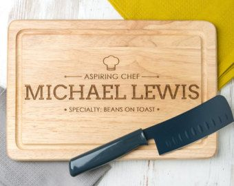 Personalised 'Eating Together Since' Wooden от DUSTandTHINGS