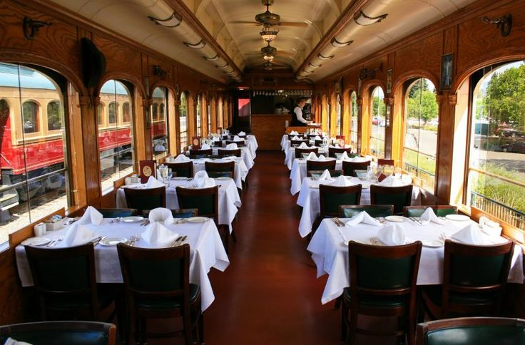 Open Air Dining Napa Valley | Al Fresco Dining Napa | Napa Wine Train