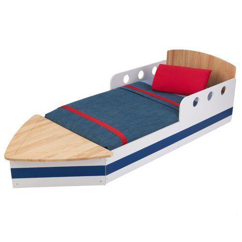 Kinderbett Boot Jetzt bestellen unter: https://moebel.ladendirekt.de/kinderzimmer/betten/kinderbetten/?uid=2932cf2f-6ea7-588b-962b-14eb401a646a&utm_source=pinterest&utm_medium=pin&utm_campaign=boards #kinderzimmer #kinderbetten #betten #beds #kids Bild Quelle: wayfair.de