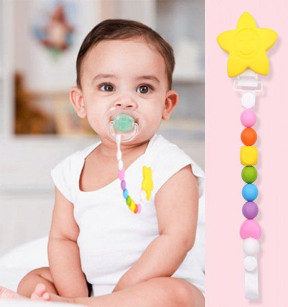 """Boobie Beads Limited on Twitter: """"#teething #baby soft silicone teething dummy clip for teething babies #smallbusiness https://t.co/37QfznlqQc"""""""