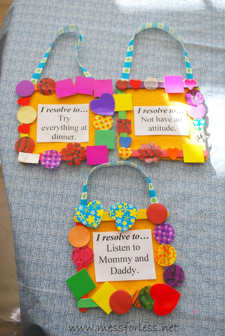 ... New Year crafts on Pinterest | Welcome 2016, New year's resolutions