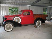 1936 Holdens body Chevrolet Wellside Coupe Ute.