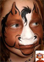 Step by step face painting - SNAZAROO