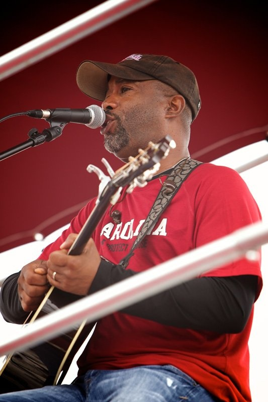 Going Home: Darius Rucker, and home happens to be South Carolina. Go Gamecocks!