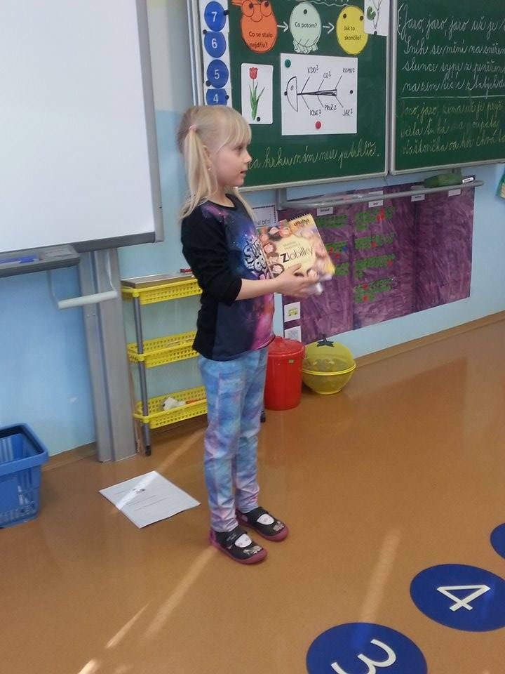 1. čtenářská dílna - ZŠ Kunratice