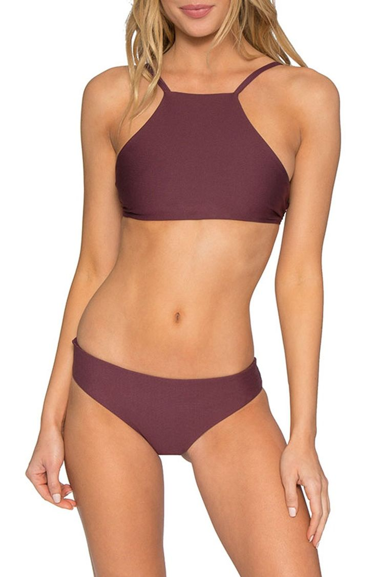 active sport halter top bikini