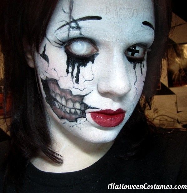 but the makeup skill on this is find this pin and more on scary halloween costumes