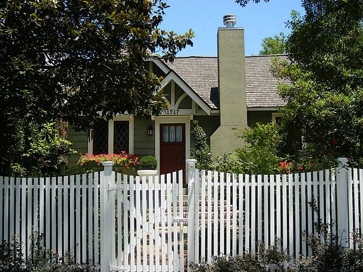 96 best house facades images on pinterest Tudor style fence